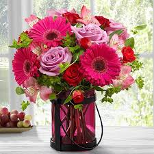 the ftd pink exuberance bouquet by better homes and gardens in