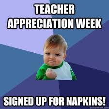 Teacher Appreciation Memes - success kid memes quickmeme