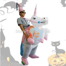 Blow Halloween Costumes Buy Halloween Costumes Inflatable Unicorn Costumes Ride