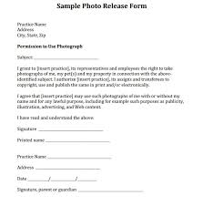model release form template free release forms for photos resumess franklinfire co