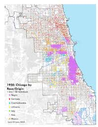 Us Map Chicago by Census Gis Here Is What Chicago U0027s Race Origin Distribution