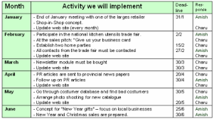 6 marketing strategy plan sample service letters