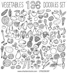 drawn vegetables easy pencil and in color drawn vegetables easy