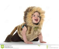 baby halloween background boy in lion costume stock image image 35541731
