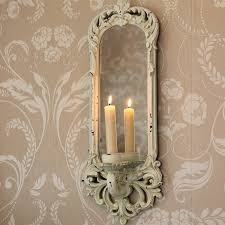 Sconce Mirror Cream Wall Sconce Melody Maison