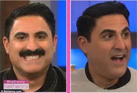 Helen Shaver Topless - bethenny frankel shaves off shahs of sunset star reza s mustache
