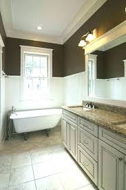 bathroom ideas with wainscoting tile wainscoting bathroom musicaout