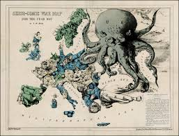 World Map Cartoon by Cartography U0027s Favourite Map Monster The Land Octopus Big Think