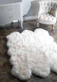 flooring faux sheepskin rug ikea faux sheepskin rug white