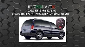 how to replace pontiac montana key fob battery 2006 2007 2008 2009