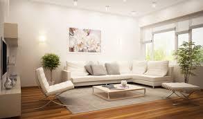 modern living room interior with model in modern living room
