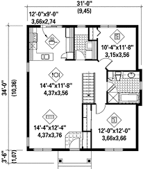 Two Bed Room House Plan 80632pm Cozy Two Bedroom House Plan Cozy Bedrooms And House