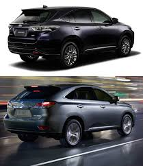lexus owns toyota toyota to reintroduce lexus rx based harrier crossover in japan