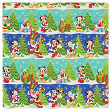mickey mouse christmas wrapping paper disney christmas minnie mouse wrapping paper ebay