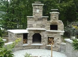 Pizza Oven Outdoor Fireplace by Plaza Wood Fired Outdoor Brick Pizza Oven And Outdoor Fireplace