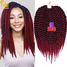 pre braided crochet hair aliexpresscom buy ombre senegalese twist synthetic hair afro pre