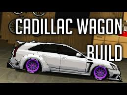 build cadillac cts pixel car racer cadillac cts wagon build community builds
