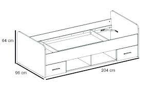 dimension canapé lit dimension lit 2 places format lit 2 places taille standard lit une