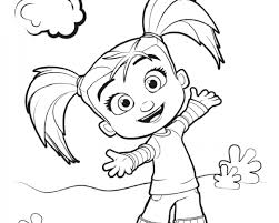 mim mim coloring pages