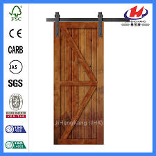 Barn Door Frame by China Knotty Alder Wood Mirrored Interior Barn Door With Sliding
