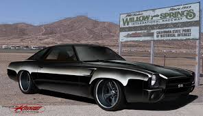 73 Chevelle Ss Custom Short Bumpered Front End Concept I Did For