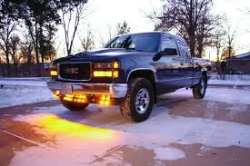 led lights for pickup trucks round led truck and trailer lights w grommet 3 4 pc rated led