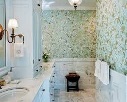 designer wallpaper for bathrooms with goodly small bathroom ideas