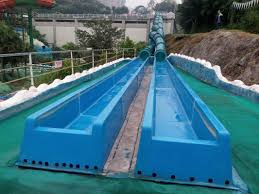 china attraction outside water slides backyard water