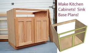 how to make a sink base cabinet kitchen cabinet sink base 36 overlay frame
