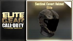 sentinel elite help desk elite gear showcase sentinel covert helmet advanced warfare youtube