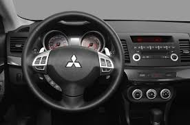 mitsubishi lancer 2016 interior 2010 mitsubishi lancer sportback price photos reviews u0026 features