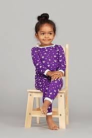 Pima Cotton Baby Clothes Starry Sky Purple 2 Piece Pajama Baby Noomie Pima Cotton
