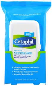 amazon com cetaphil gentle skin cleansing cloths dry sensitive