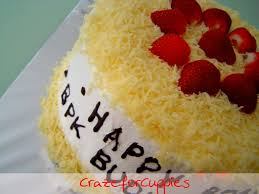 cara membuat cheese cake ulang tahun vanilla cheese cake for pak budi crazeforcuppies
