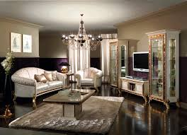Classic Living Room Deluxe Traditional Living Rooms Furniture Designs With Brass