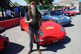 magnus walker porsche green magnus walker u0026 momo put on a porsche rally to rennsport photo