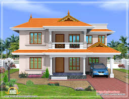 Nice Kerala Style Sloped Roof House Sq Ft Home Design Houses