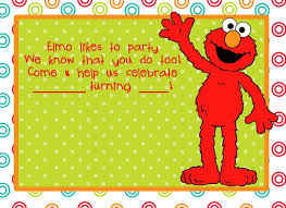 sesame street pool party elmo birthday party invitations theruntime com