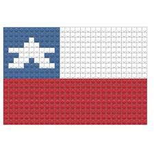 Chilian Flag Flag Of Chile Pixel Art U2013 Brik