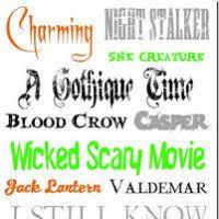 best halloween font word bootsforcheaper com