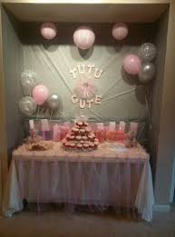 tutu baby shower decorations tutu baby shower sorepointrecords