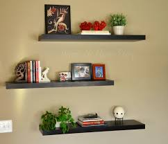 Decorative Shelves For Walls The Family Room The Other Half Shelves Wall Shelving And