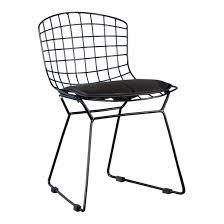 junior wire chair black furniture mintimoon