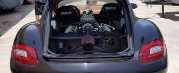 porsche cayman engine problems 480 hp porsche cayman gets ford coyote 5 0 v8 engine out for