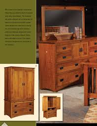 yutzy woodworking prairie home mission bedroom group