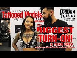 london tattoo convention 2017 tattooed models biggest turn on
