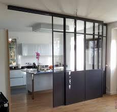 verriere interieur cuisine la verrière intérieure en 62 idées pour toute la maison photos