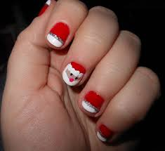 kalamityjane super cute santa nails