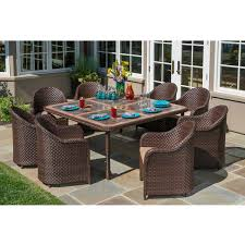 dining sets costco san marino 9 piece dining set with ceramic table top by sirio