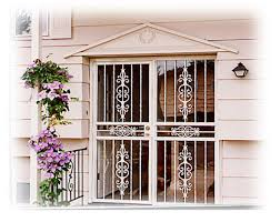 security doors and window guards custom built ornamental ironwork